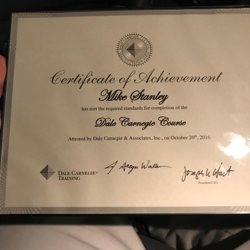Carnegie-Certificate