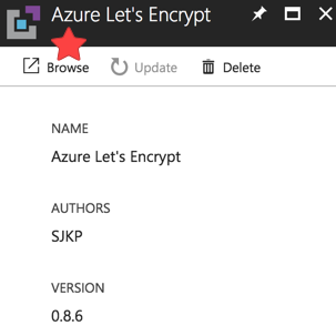 Azure Extension 6