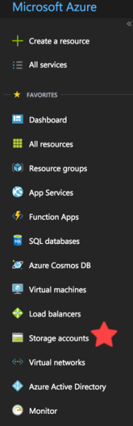 Azure Storage Account 1