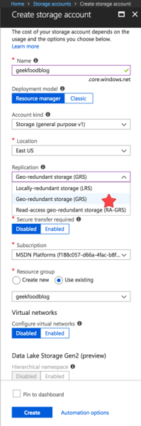 Azure Storage Account 3